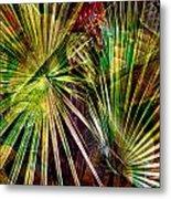 Tropical Abstract Metal Print