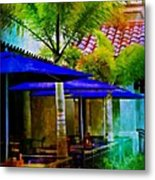 Tropical Al Fresco Metal Print