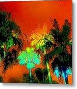Tropical Blend Metal Print