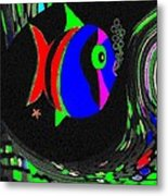 Tropical Cave Fish 1 Metal Print