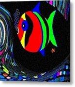 Tropical Cave Fish 2 Metal Print