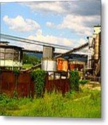 Tropical Distillery Metal Print