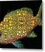 Tropical Fish Art 14 By Sharon Cummings Metal Print