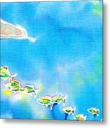 Tropical Fishes Metal Print