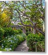 Tropical Garden. Mauritius Metal Print