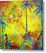 Tropical Heat Wave Metal Print