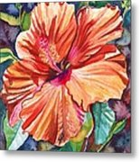 Tropical Hibiscus 5 Metal Print