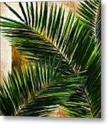 Tropical Leaves Metal Print