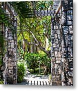 Tropical Light Metal Print