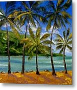 Tropical Paradize Metal Print