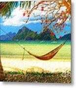 Tropical Peace Metal Print