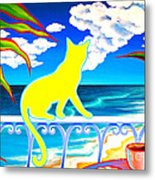 Sea Breeze And Coffee Metal Print