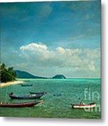 Tropical Seas Metal Print