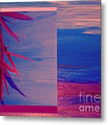 Tropical Sunrise By Jrr Metal Print