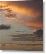 Tropical Sunset Sky Metal Print
