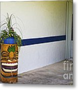 Tropical Tiki Welsome Metal Print