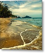 Tropical Waves Metal Print