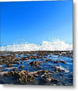 Tropical White Waters Metal Print
