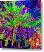 Tropicals Gone Wild Metal Print
