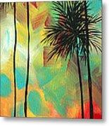 Tropics By Madart Metal Print