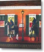 Trot Up Take Out Metal Print