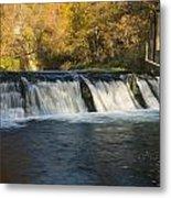 Trout Run Creek Dam 2 Metal Print