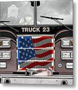 Truck 23 Metal Print