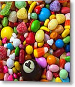 Truffle And Candy Metal Print