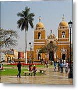 Trujillo Peru Plaza Metal Print