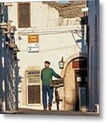Trulli Houses Alberobello Apulia Puglia Metal Print