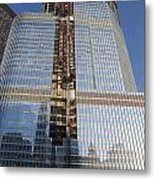 Trump International Hotel Under Construction Chicago Metal Print