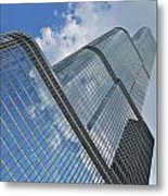 Trump Tower Chicago Metal Print by Ed Pettitt