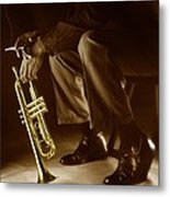 Trumpet 2 Metal Print