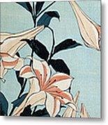 Trumpet Lilies Metal Print
