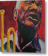 Trumpeter Shades Of Red Metal Print