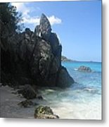 Trunk Bay St. John  Usvi Metal Print