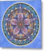Truth Mandala Metal Print
