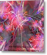 Truth Shall Spring Out Metal Print