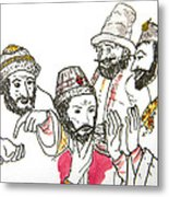 Tsar And Courtiers Metal Print