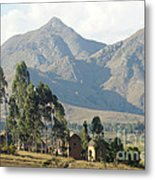 Tsaranoro Mountains Madagascar 1 Metal Print
