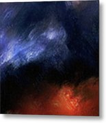 Tsunami Abstract Metal Print