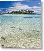 Tuamatu Islands Metal Print