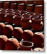 Tubac Pottery Factory Metal Print