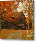 Tucked In The Trees Metal Print