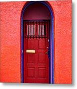 Tucson Doorway Metal Print