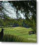 Tucson Foothills Golf Course Metal Print