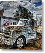Tucumcari Towing Metal Print
