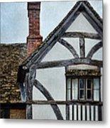 Tudor House Metal Print