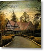 Tudor Road Metal Print