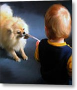Tug Of War Metal Print